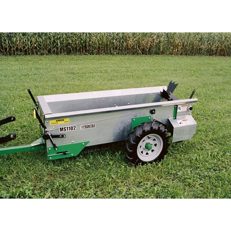 25 bushel ground driven manure spreader ms1102g home manure spreaders ...