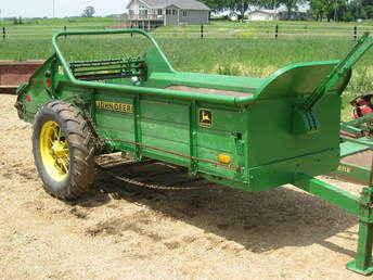 Used Farm Tractors for Sale: John Deere L Manure Spreader (2009-07-09 ...
