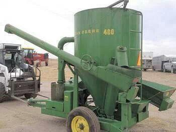 John Deere 400 Grinder/Mixer   Vintage farm equipment   Pinterest