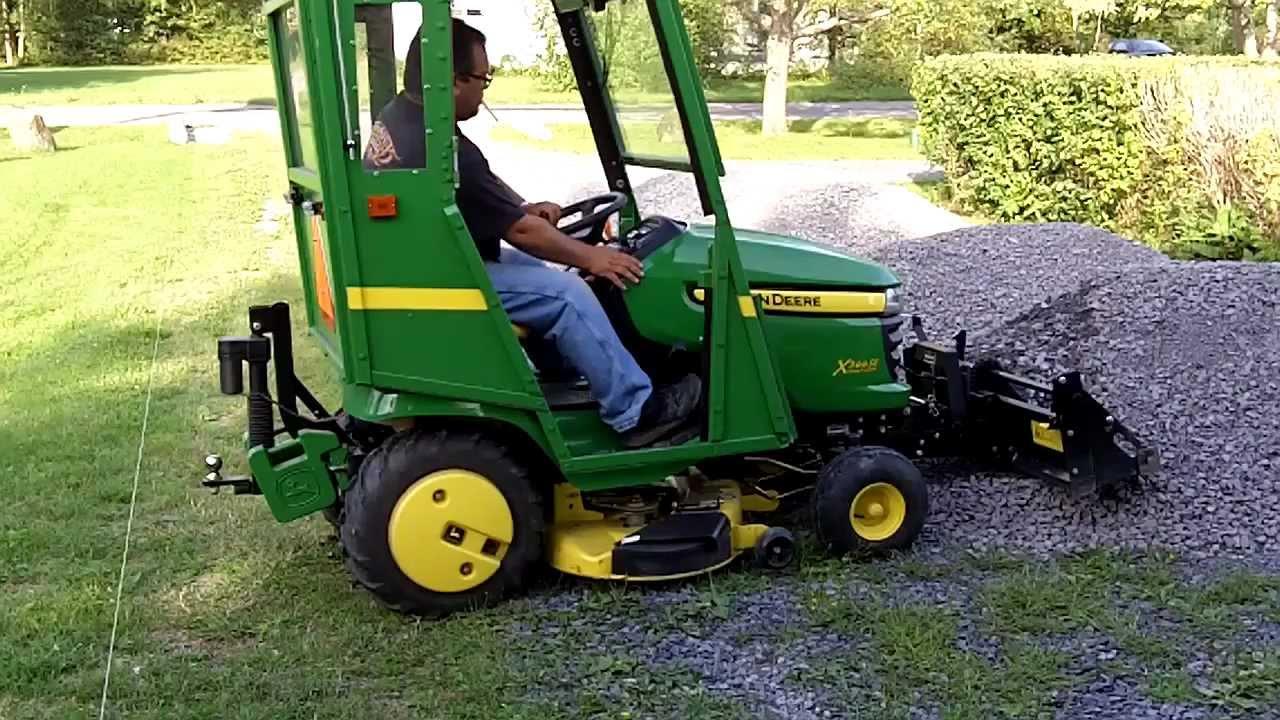 John Deere 40 inch Tractor Shovel For X3xx & X5xx Working ...