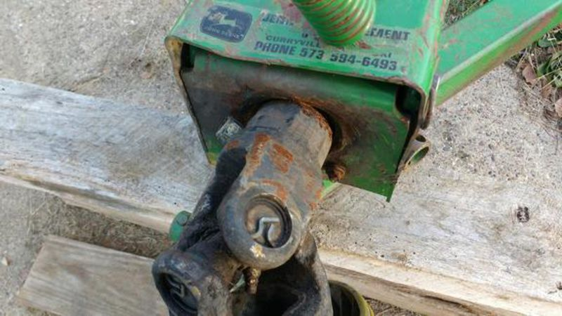 description 2001 jd mx10 pull type rotary cutter front safety chains ...
