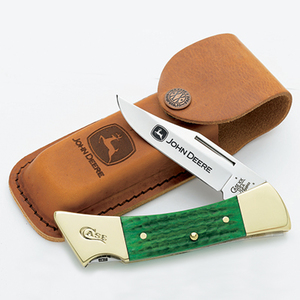 John Deere Folding Pocket Knife - Green Grip | Mens Pocket Knives ...