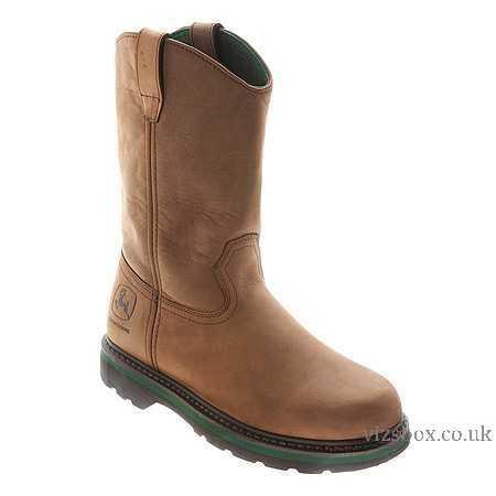 ... John Deere Men'S Boots 11-Inch Non-Safety Toe Wellington Work Dk Crazy