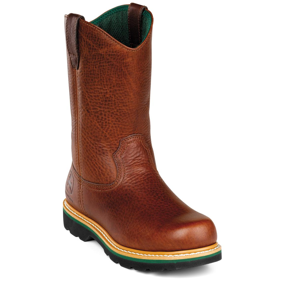 ... Shoes / Work Boots / Men's John Deere® 11 Steel Toe Work Wellington
