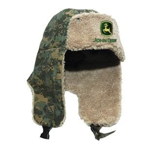 John Deere Digital Camo Trapper Hat | Ear Flad Hat | Pinterest