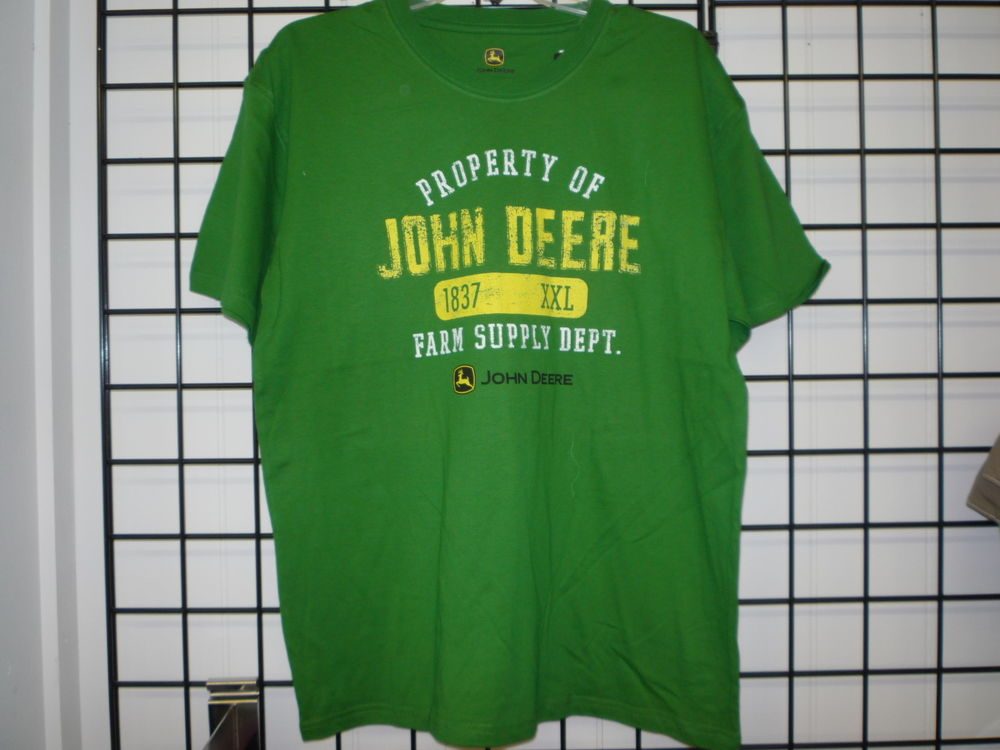 John Deere T-Shirt, Men's John Deere Shirt 13000001. NWT ...