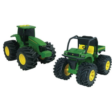 John Deere Monster Treads 6 Lights and Sounds Gator and Tractor Play ...