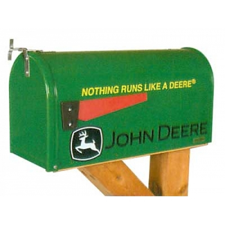 Deere Outdoors > John Deere Nothing Runs Like a Deere Rural Mailbox