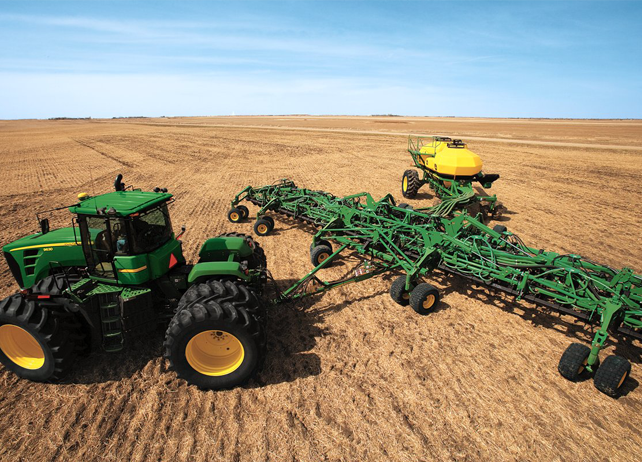 john deere air seeding