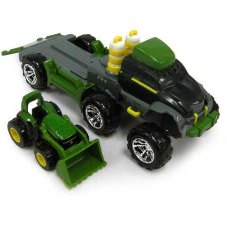 ... John Deere Mighty Movers Off Road Semi Launcher Tractor with Loader
