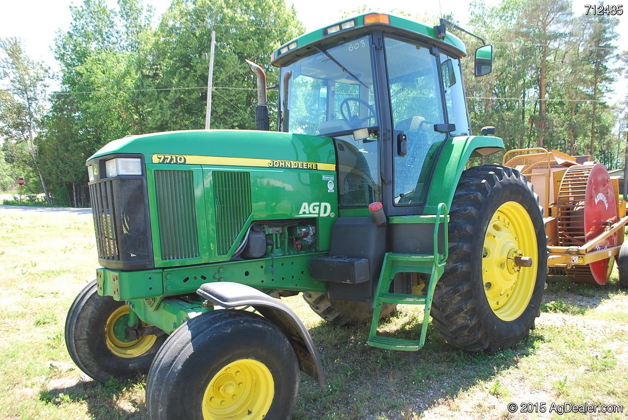 John Deere 7710 Tractor For Sale   AgDealer.com