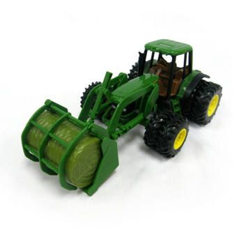 John Deere - 8 7220 Tractor w/ Bale Mover