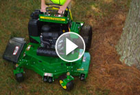 QuikTrak™ Stand-On Mowers | 600 B Series | John Deere US