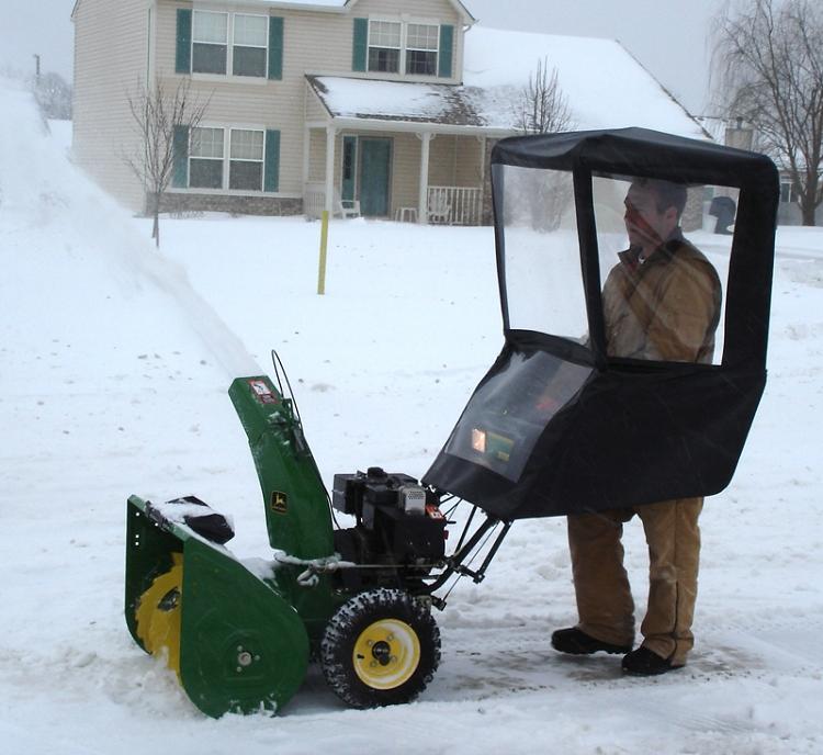 John Deere Tractor Snow Cab | Car Interior Design