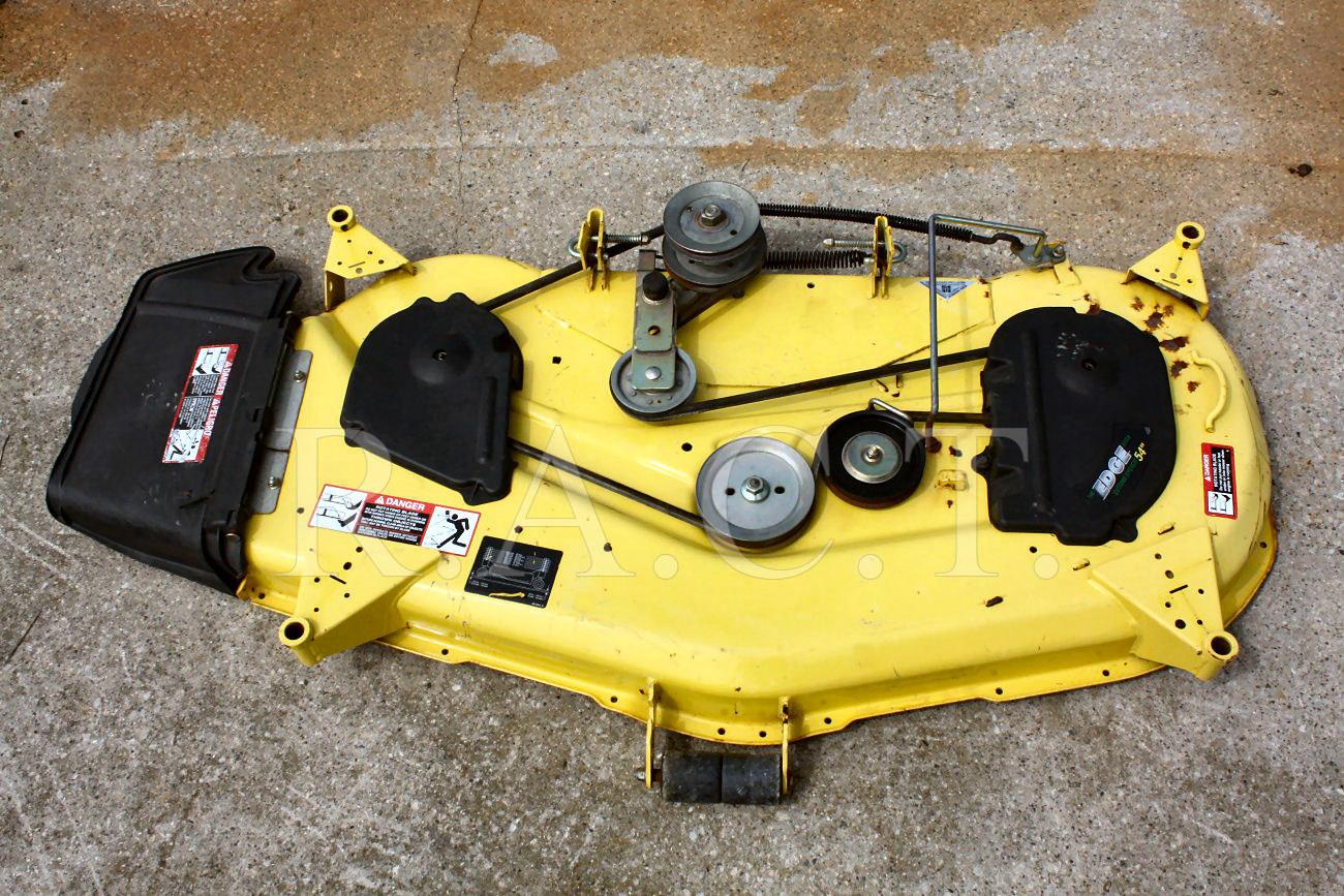 ... -equipment/diagram-install-belt-john-deere-54-deck-mower-352015.html
