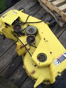 Details about John Deere G100 G110 Lawn Mower 54 Mower Deck Complete!