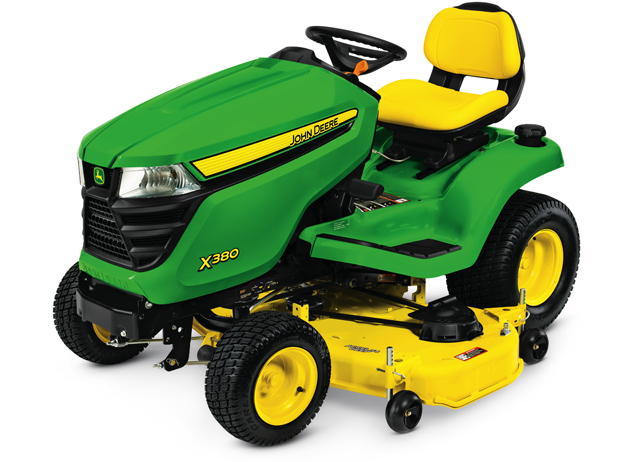 John Deere X380 Lawn Tractor with 54-inch Deck