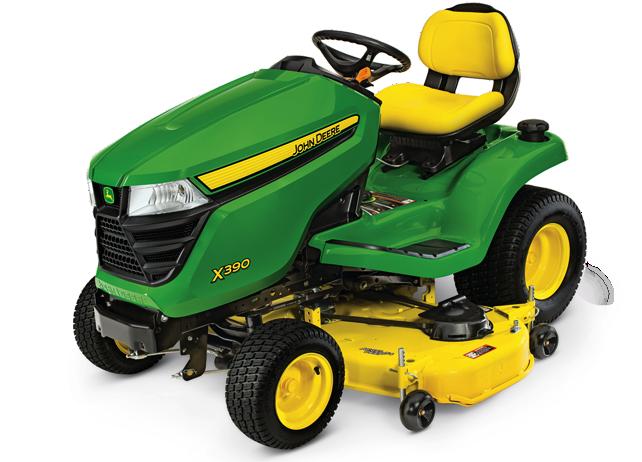 X300 Select Series Lawn Tractor | X390, 54-in. Deck | John Deere US
