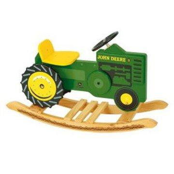 KidKraft John Deere Rocking Tractor - Rocking Toys at Hayneedle