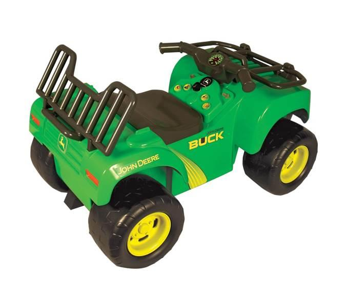 Amazon.com: John Deere Sit-N-Scoot Buck With Lights And Sounds: Toys ...