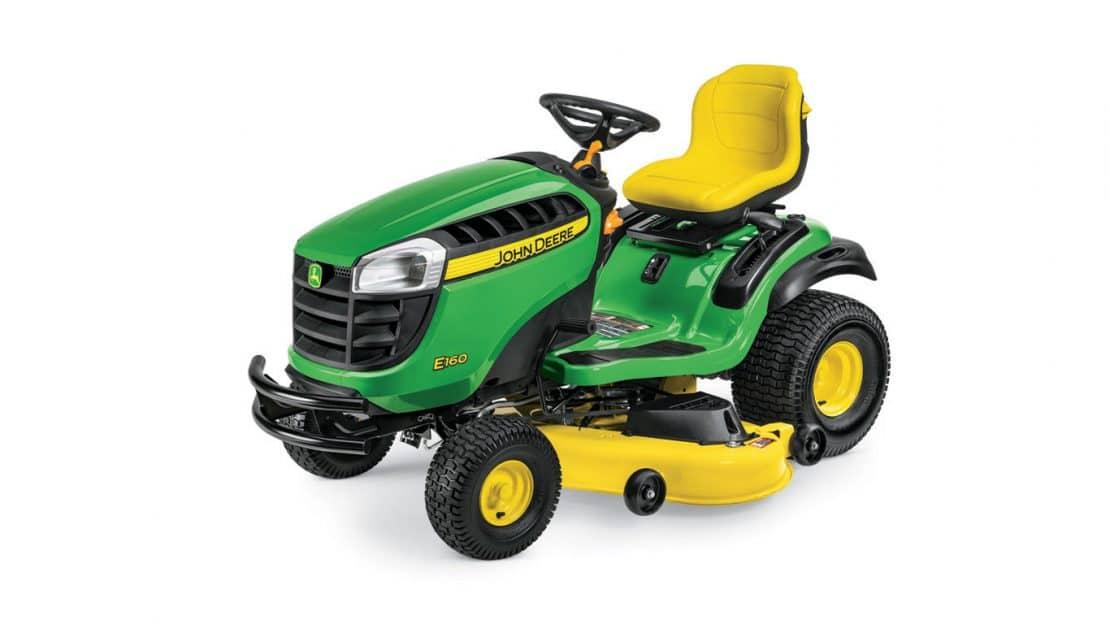 john deere e100 series lawn tractors