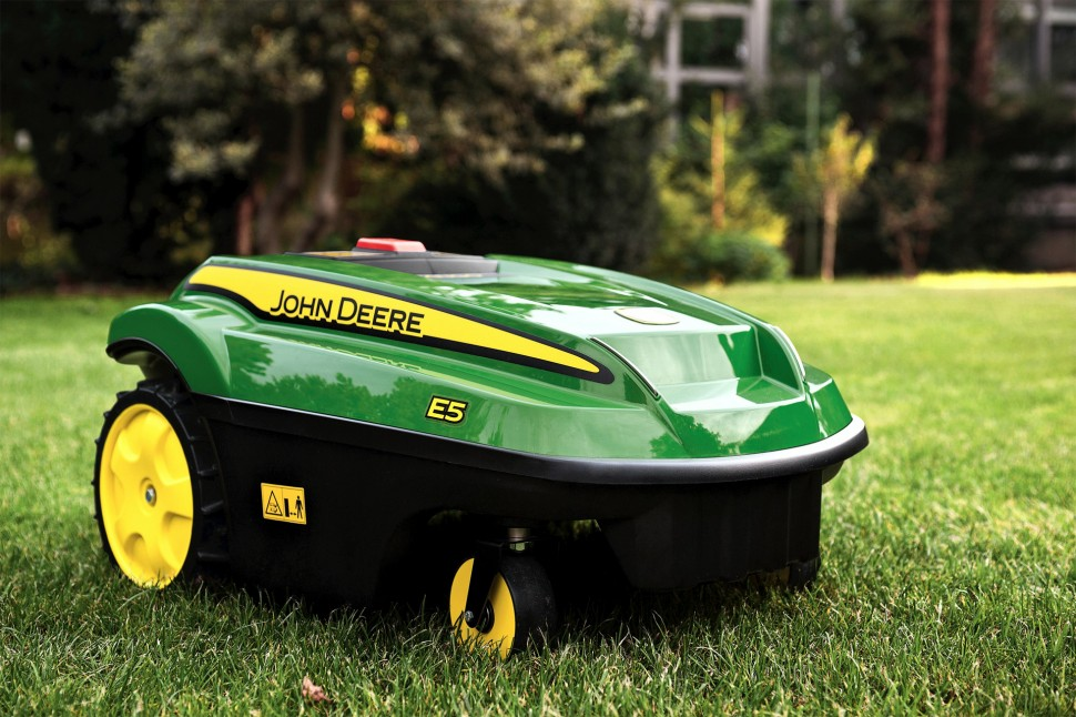 john deere robotic mower