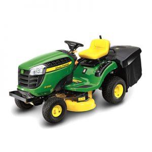 john deere x100 series lawn tractors