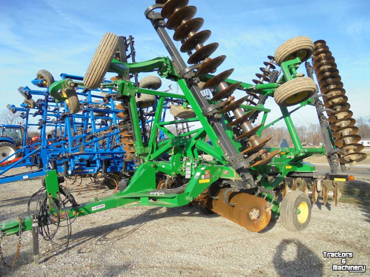 John Deere 2620 DISK DISC WITH REAR HITCH USA - Used Disc harrow ...