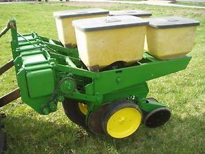 John Deere 2 Row 7000 Planter 3 Point Hitch Mounted Sweet Corn Food ...