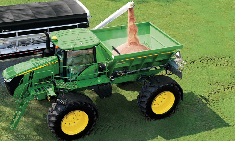 ... adding revenue without adding machines with dry spinner spreader
