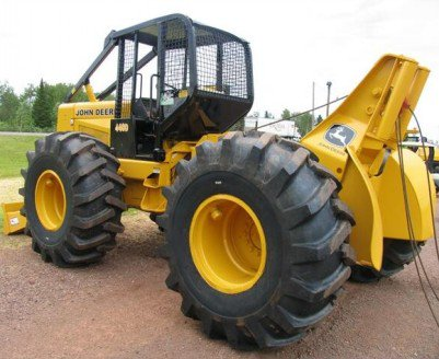 John Deere 340D, 440D Skidder and 448D Grapple Skidder ...