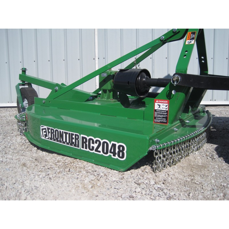 Frontier RC2048 48 Rotary Cutter | Mutton Tractor Attachments