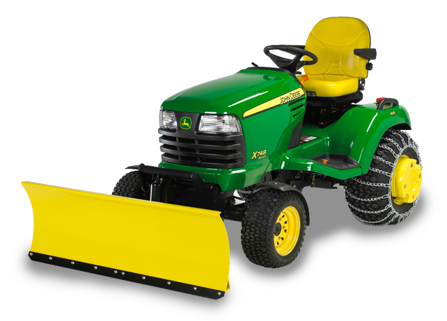 john deere riding mower attachments
