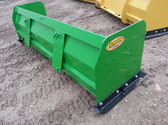 NEW 8 ft John Deere snow pusher