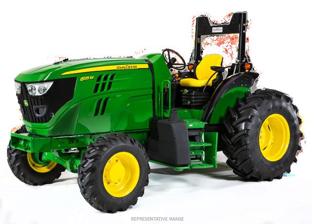 Specialty Tractors   6115M Low-Profile Tractor   John Deere US