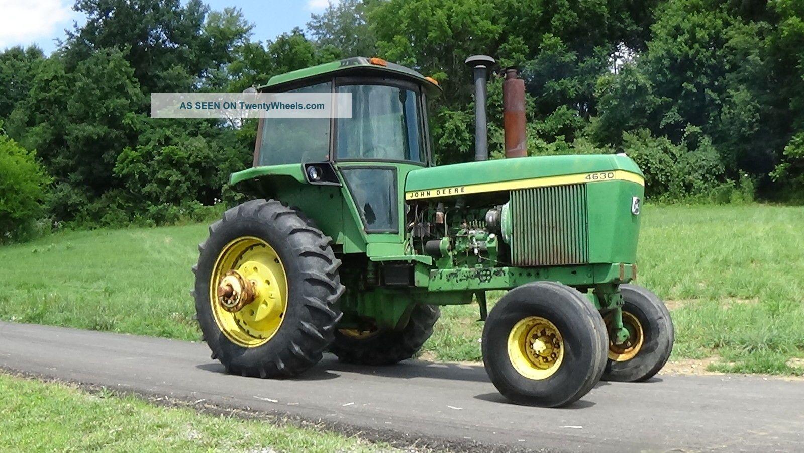 John Deere 4630 Cab Tractor. . 165 Hp Tractors photo 1
