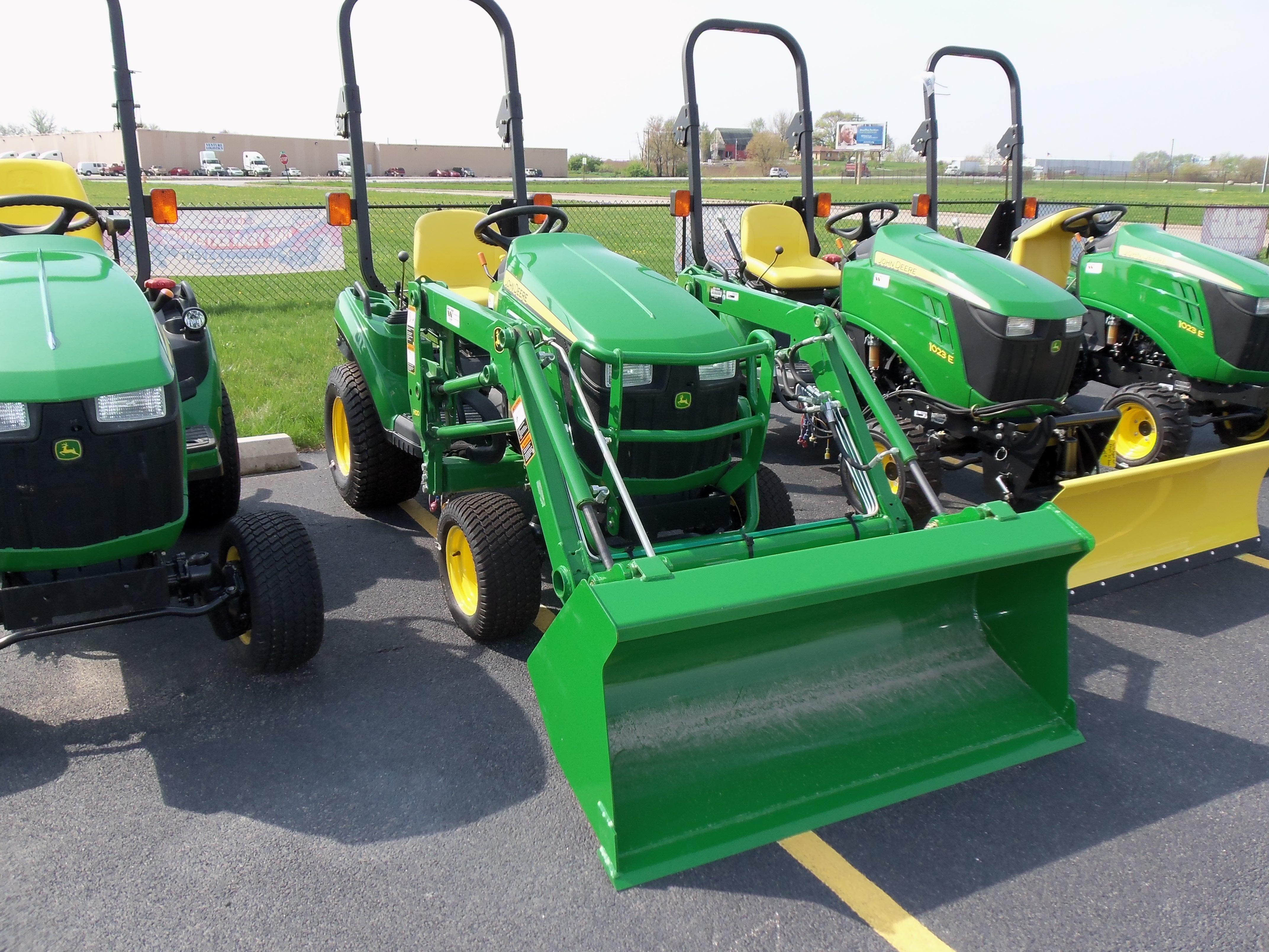 1023E with H120 loader | John Deere equipment | Pinterest