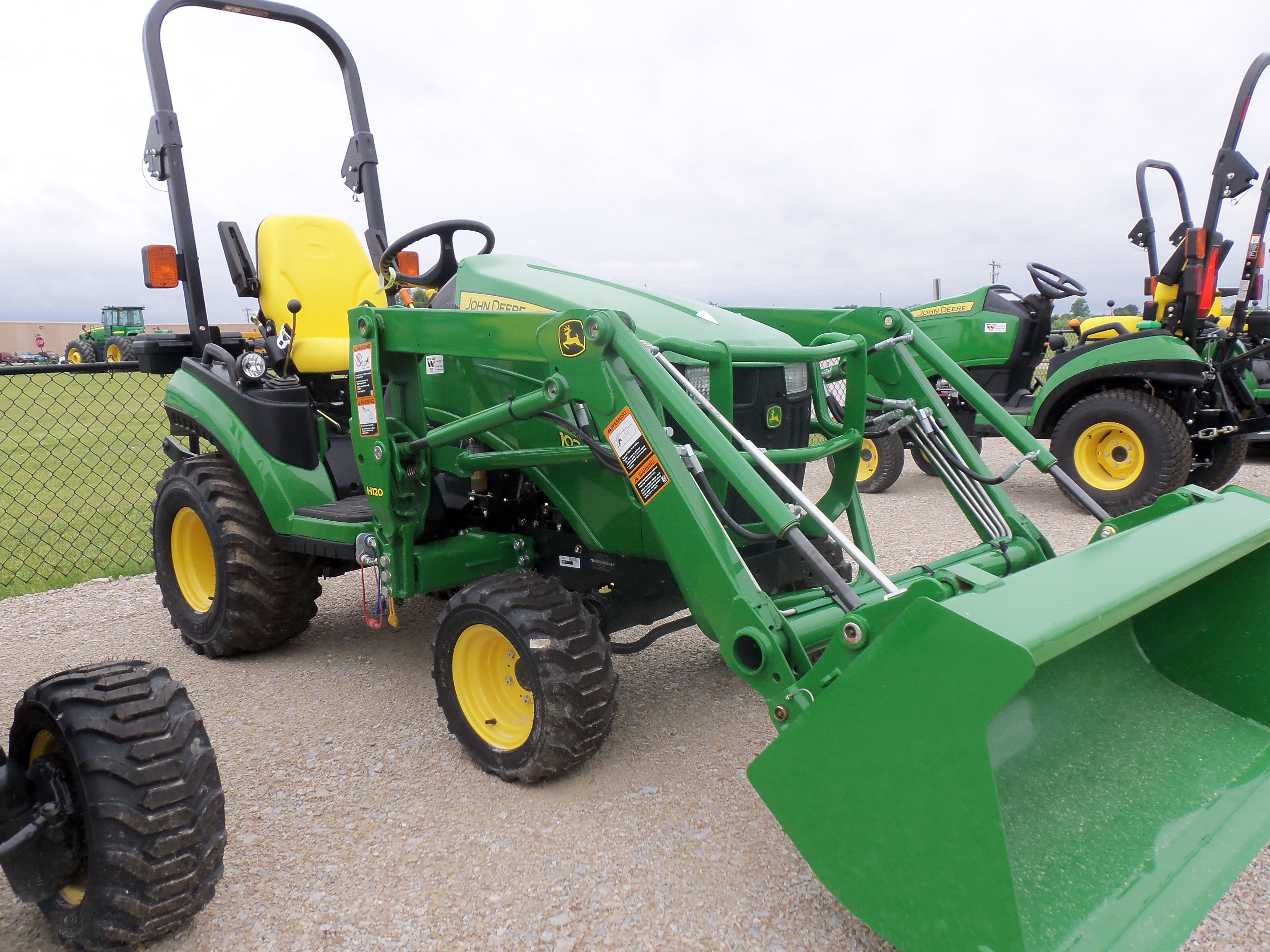 Another 1026R with H120 loader | John Deere equipment | Pinterest