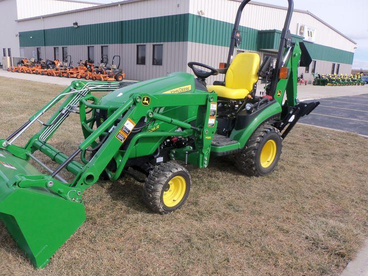 John Deere 1026R with H120 loader | John Deere equipment | Pinterest