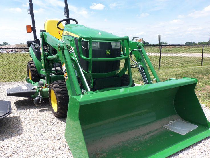 1026R with H120 loader | John Deere equipment | Pinterest