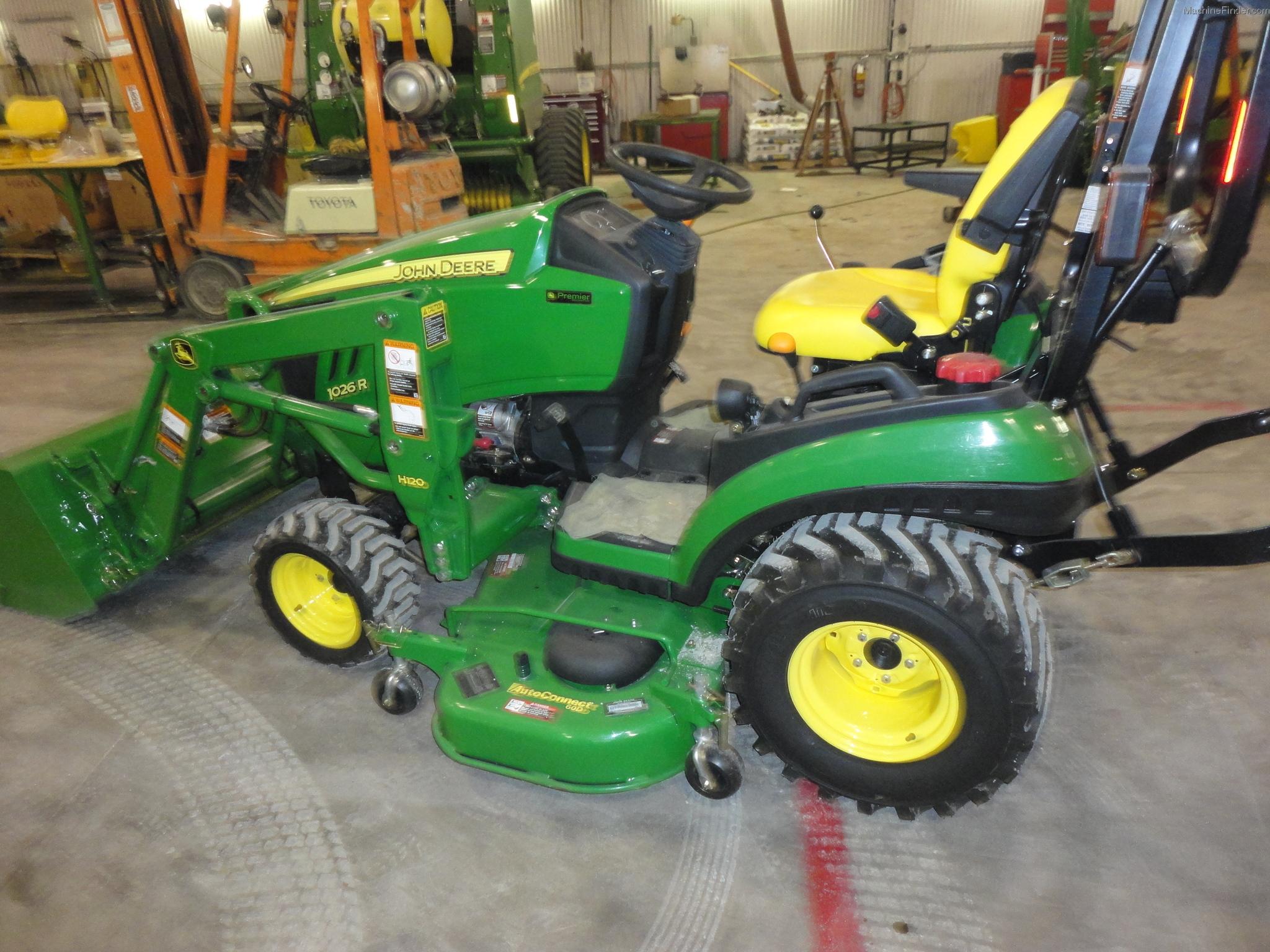 2011 John Deere 1026R Tractors - Compact (1-40hp.) - John Deere ...