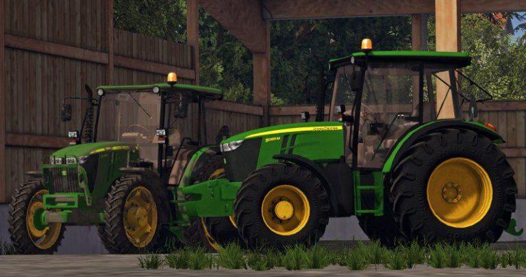 John Deere 5M series pack - Farming Simulator 15 Mods - FS15 Mods ...