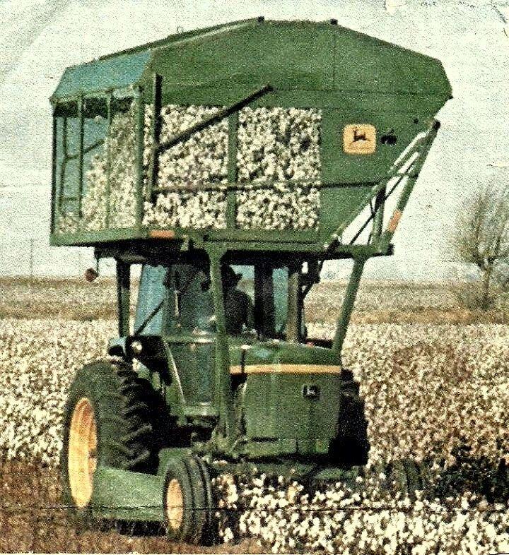 Cotton Picker Tractor-John Deere Pinterest John Deere, Cotton