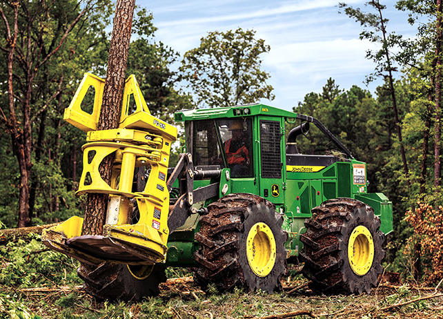 John Deere FD55 Felling Heads Attachments & Working Tools