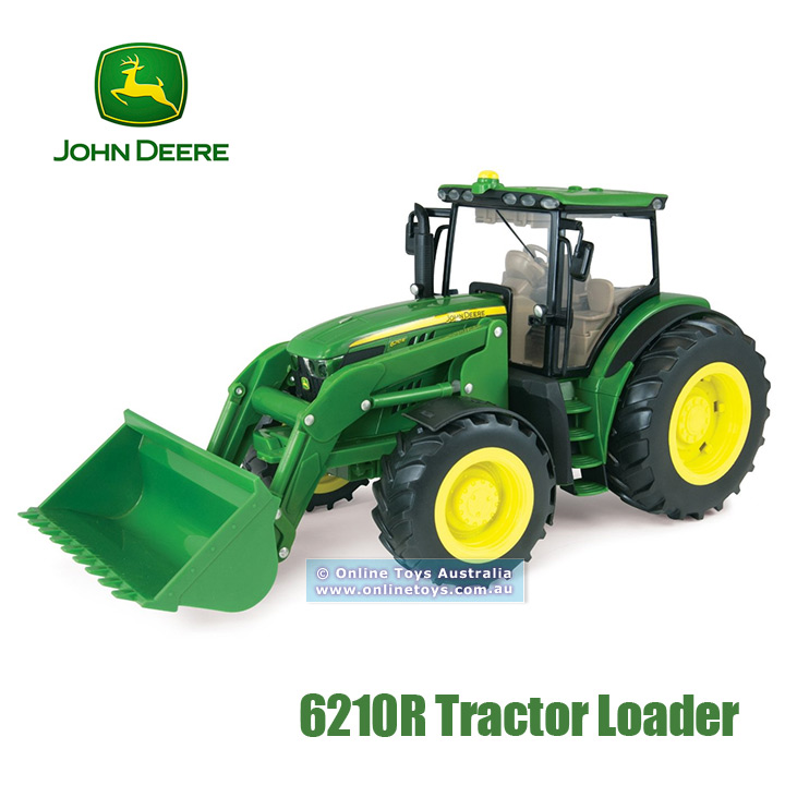 John Deere - Big Farm - 6210R Lights & Sounds Tractor Loader - Online ...