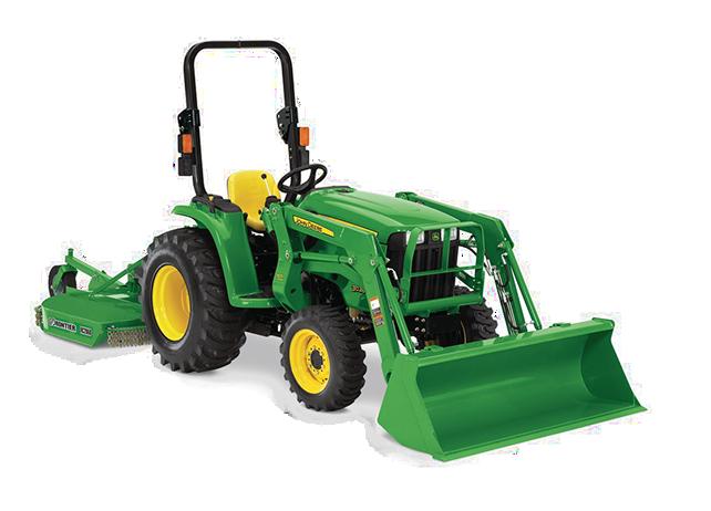 John Deere 3 Family Compact Utility Tractors | 3E 3R Series | Holland ...
