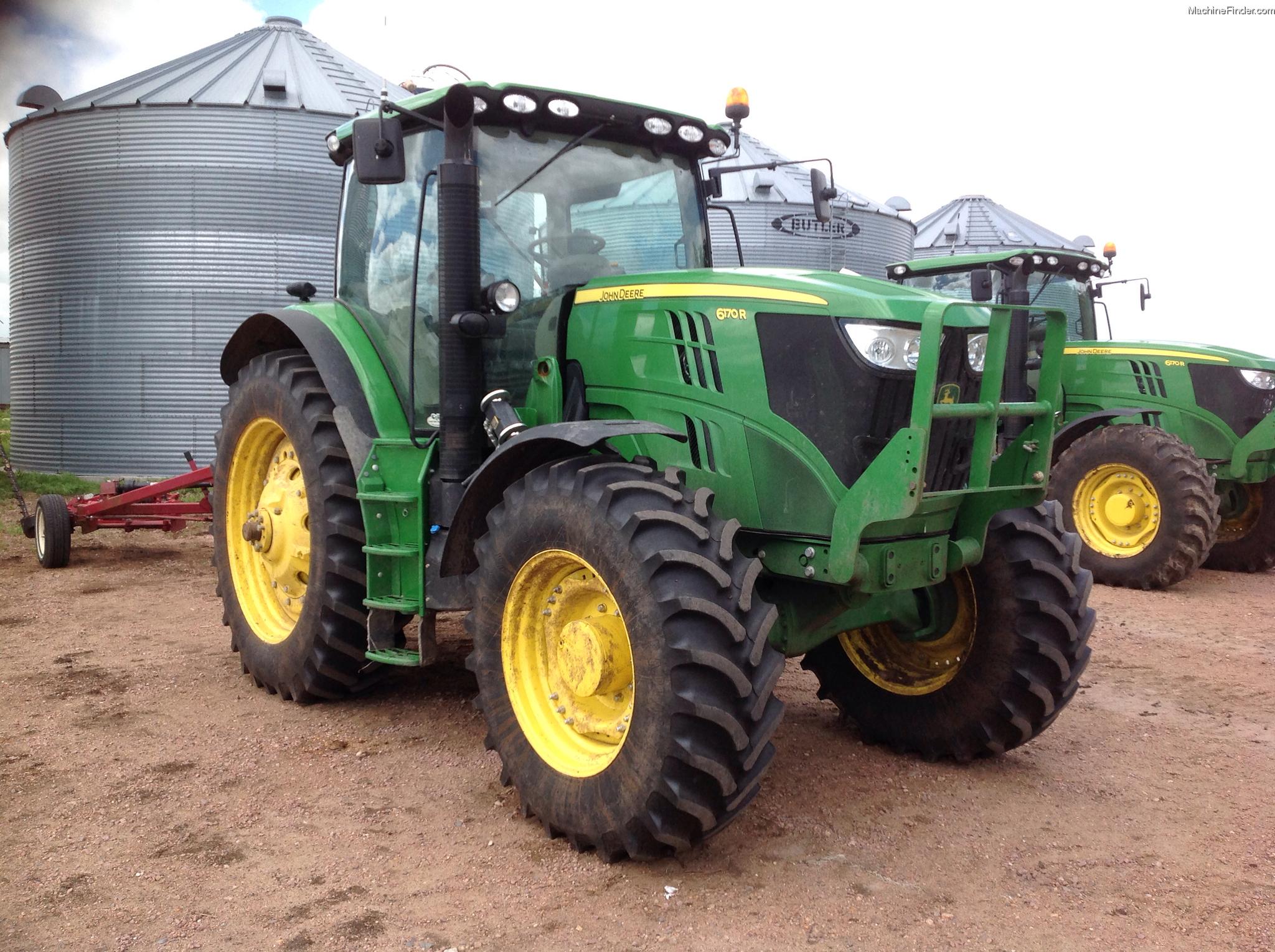2012 John Deere 6170R Tractors - Row Crop (+100hp) - John Deere ...