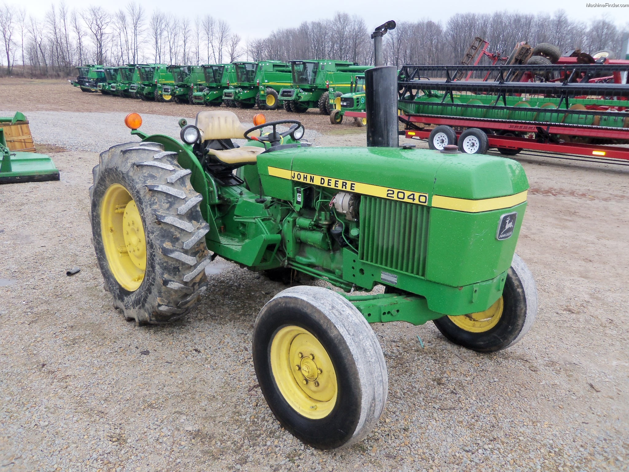 Used Farm & Agricultural Equipment - John Deere MachineFinder