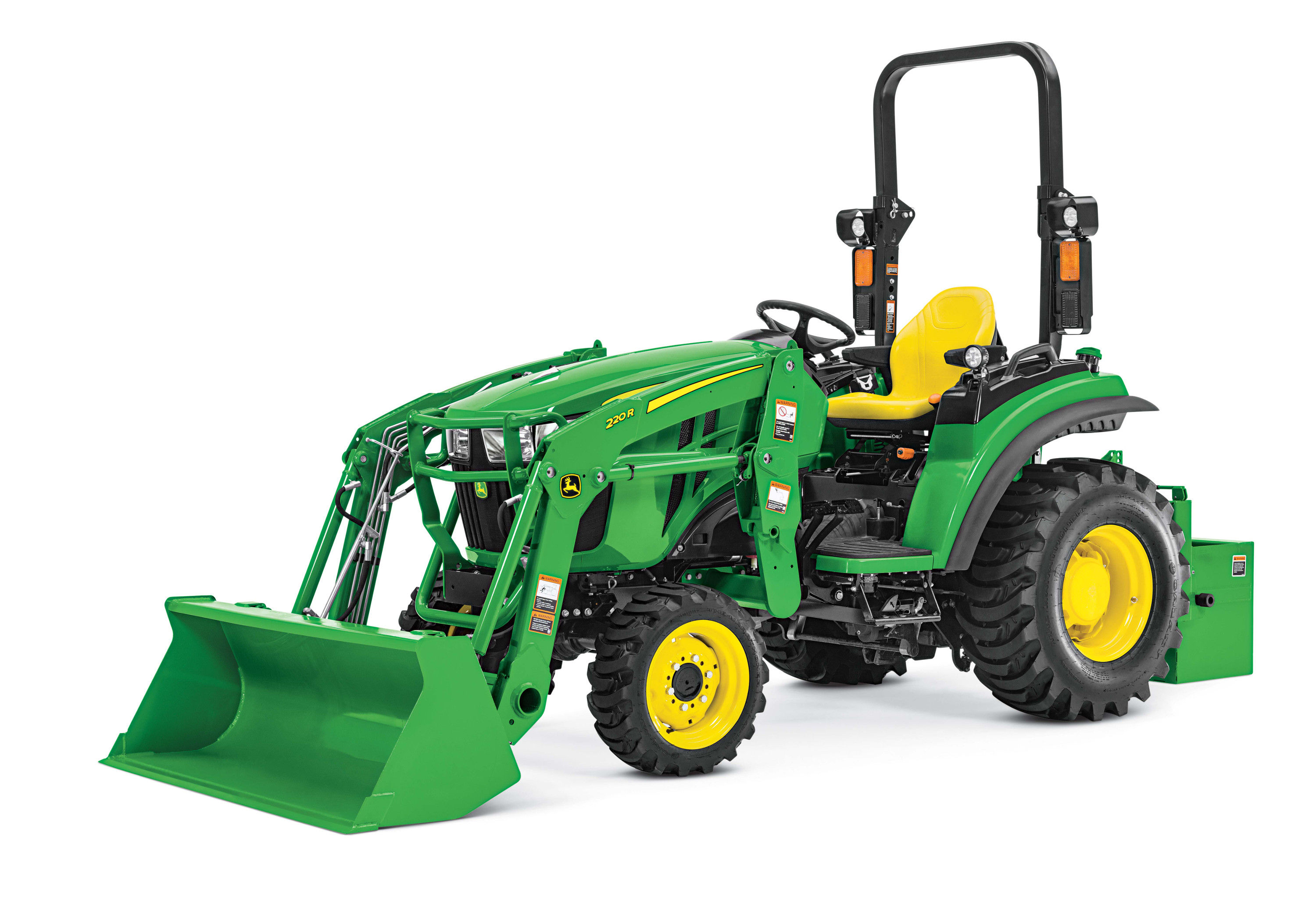 New 2R Series Compact Utility Tractors | John Deere US