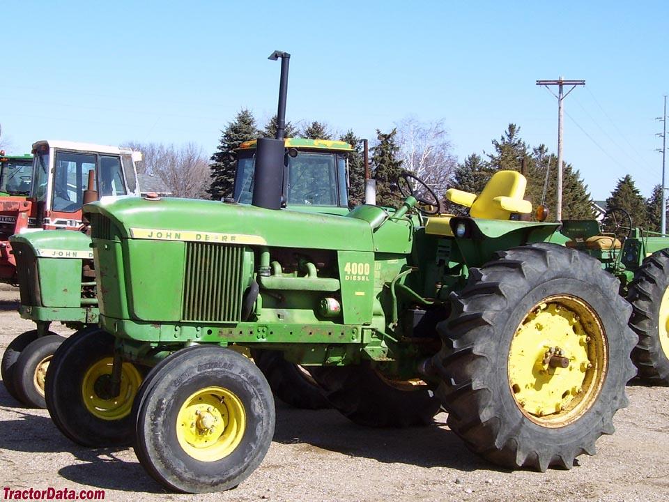 john deere 4000 series tractors